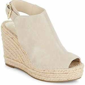 Kenneth Cole Suede Wedges